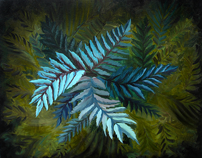Ferns by Mark Saba