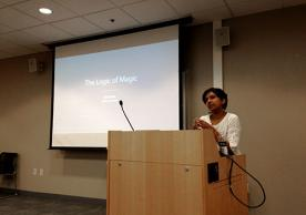 Arati Iyer at the April 20th Design Community of Practice